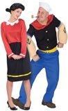 Olive Oyl & Popeye